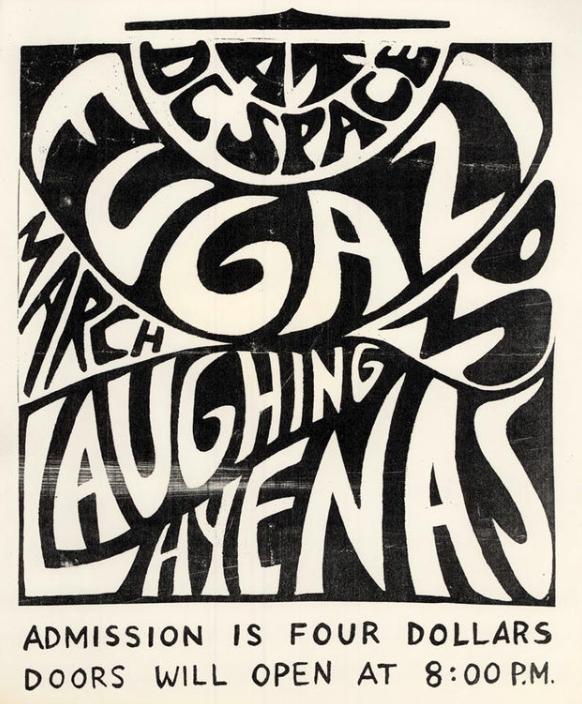 Fugazi-Laughing Hyenas @ Washington DC 3-30-88