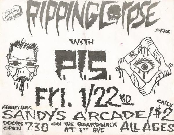 Ripping Corpse-PIS @ Asbury Park NJ 1-22-88