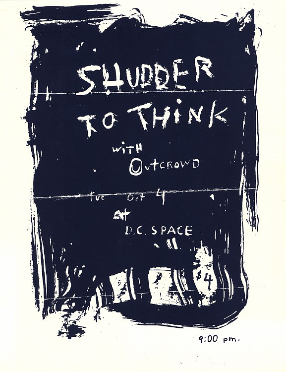 Shudder To Think-Out Crowd @ Washington DC 10-4-88