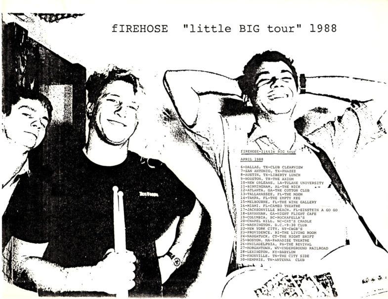 "fIREHOSE ""Little BIG Tour"" 1988"