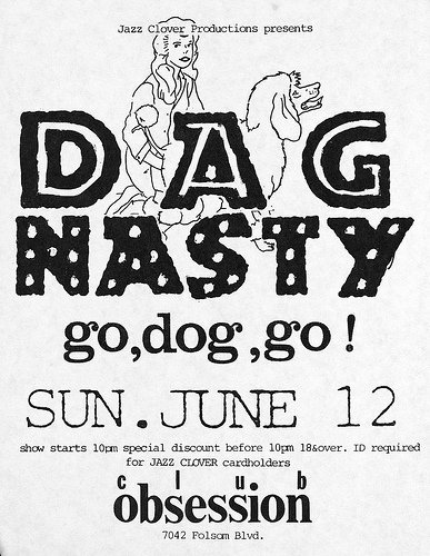 Dag Nasty-Go Dog Go @ 6-12-88