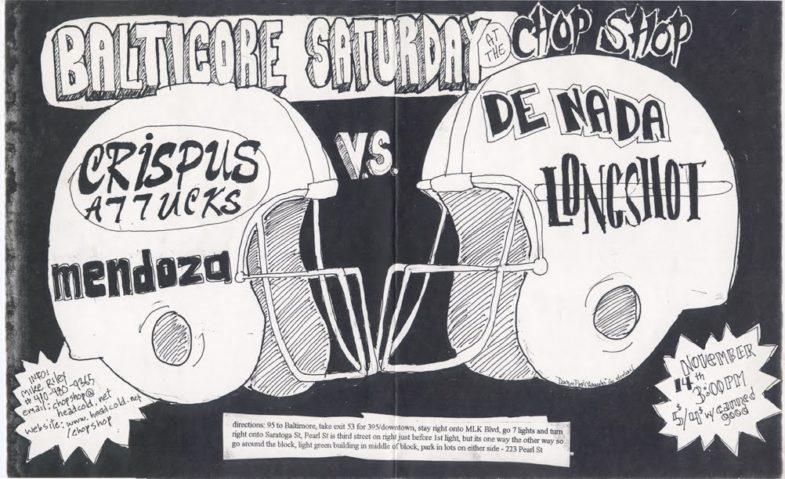 Crispus Attucks-Mendoza-De Nada-Long Shot @ Baltimore MD 11-14-98
