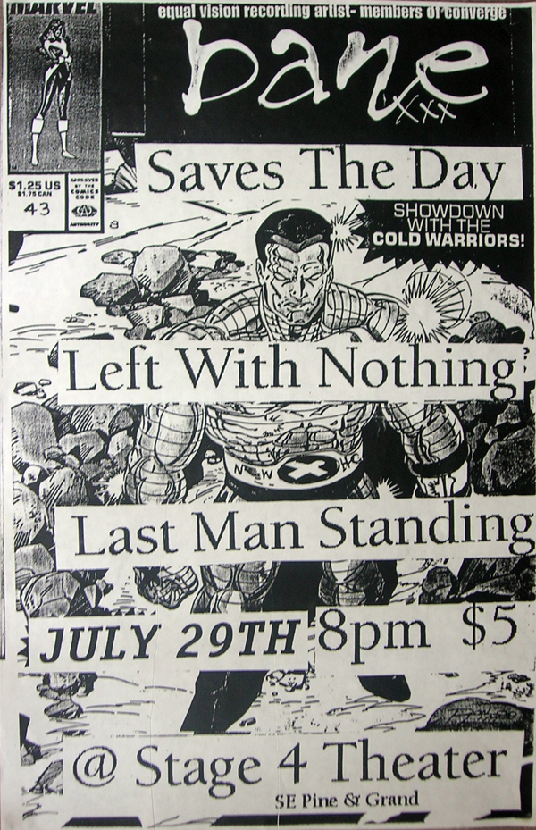 Bane-Saves The Day-Left With Nothing-Last Man Standing @ Portland OR 7-29-98