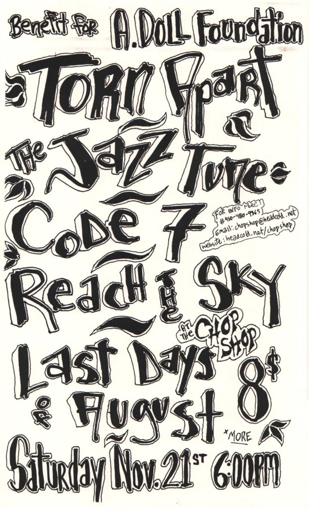 Torn Apart-The Jazz June-Code 7-Reach The Sky @ Baltimore MD 11-21-98