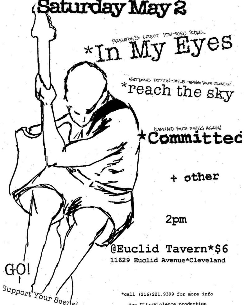 In My Eyes-Reach The Sky-Committed @ Cleveland OH 5-2-98