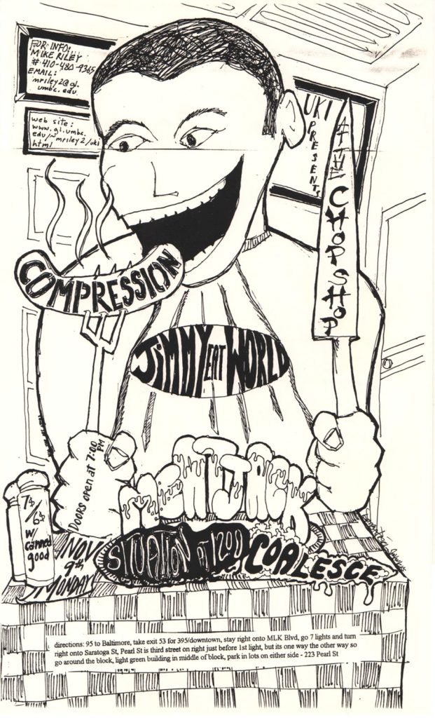 Jimmy Eat World-Compression @ Baltimore MD 11-9-98