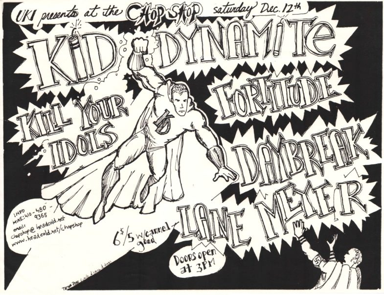 Kid Dynamite-Kill Your Idols-Fortitude-Daybreak-Lane Meyer @ Baltimore MD 12-12-98