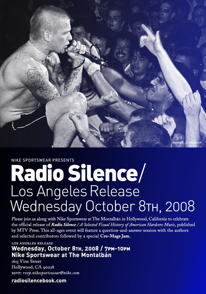 Radio Silence 10-8-08