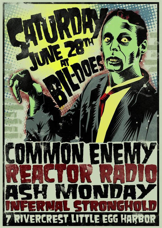 Common Enemy-Reactor Radio-Ash Monday-Infernal Stronghold @ Little Egg Harbor NJ 6-28-08
