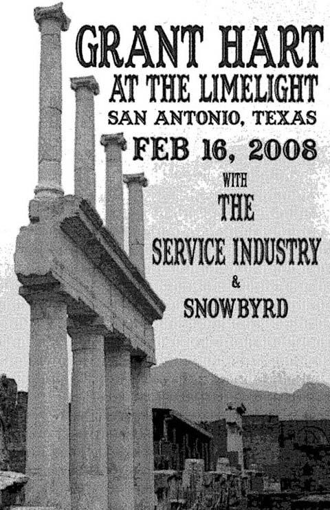 Grant Hart @ San Antonio TX 2-16-08