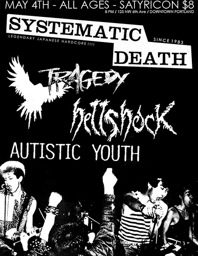 Systematic Death-Tragedy-Hell Shock-Autistic Youth @ Portland OR 5-4-08