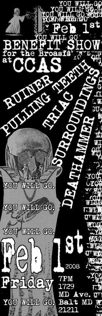 Ruiner-Pulling Teeth-Triac-Surroundings-Athammer @ 2-1-08