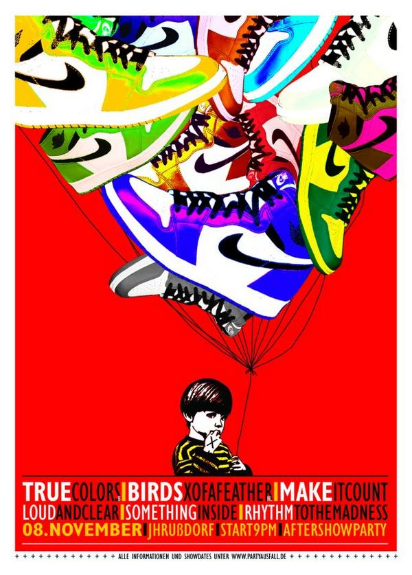 True Colors-Birds Of A Feather-Make It Count-Loud & Clear-Something Inside-Rhythm-To The Madness @ 11-8-08