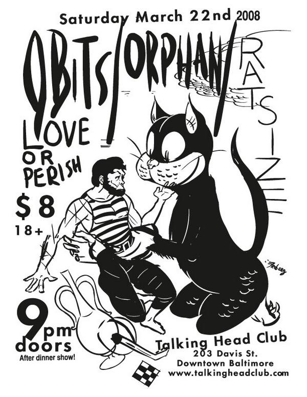 Obits-Orphan @ Baltimore MD 3-22-08