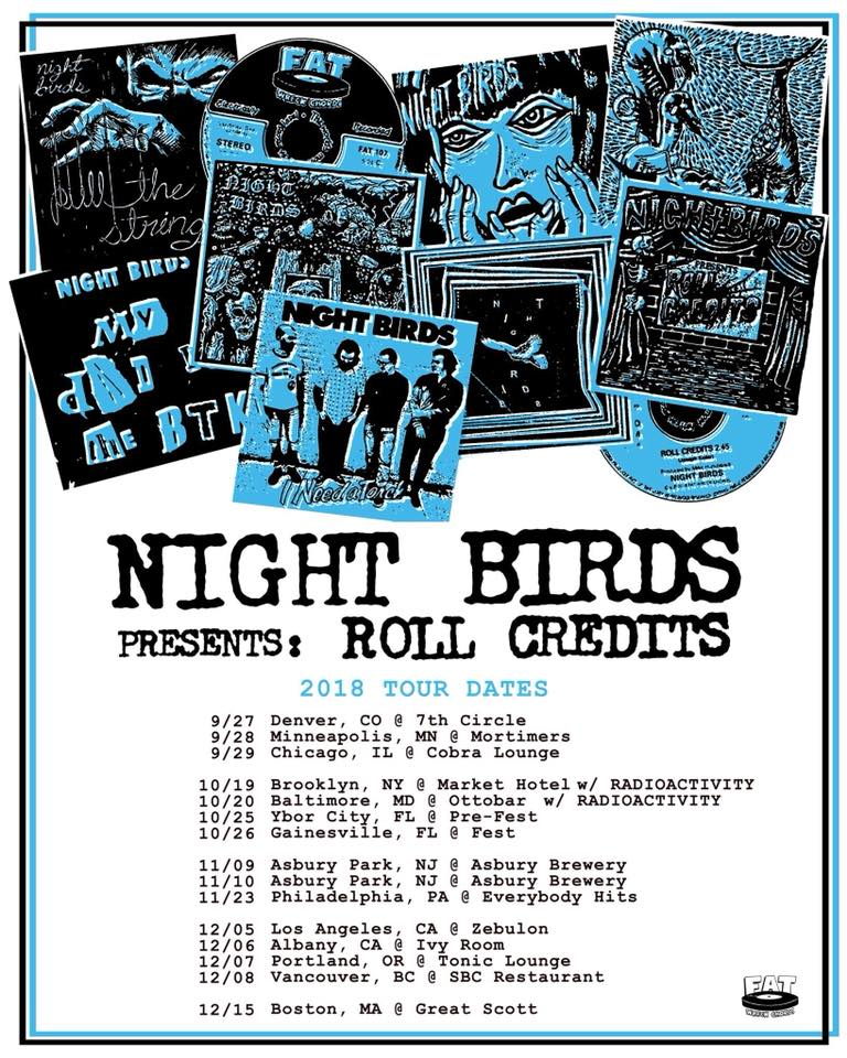Night Birds Tour 2018