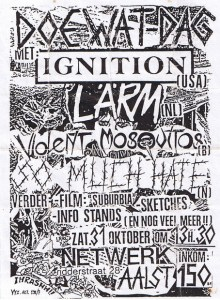Ignition-Larm-So Much Hate @ Aalst Belgium 10-31-87