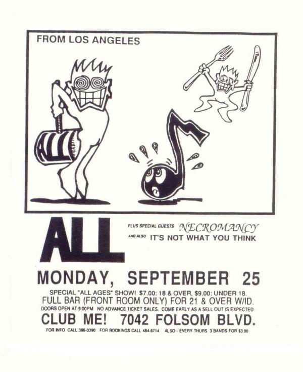 All-Necromancy @ Sacramento CA 9-25-89