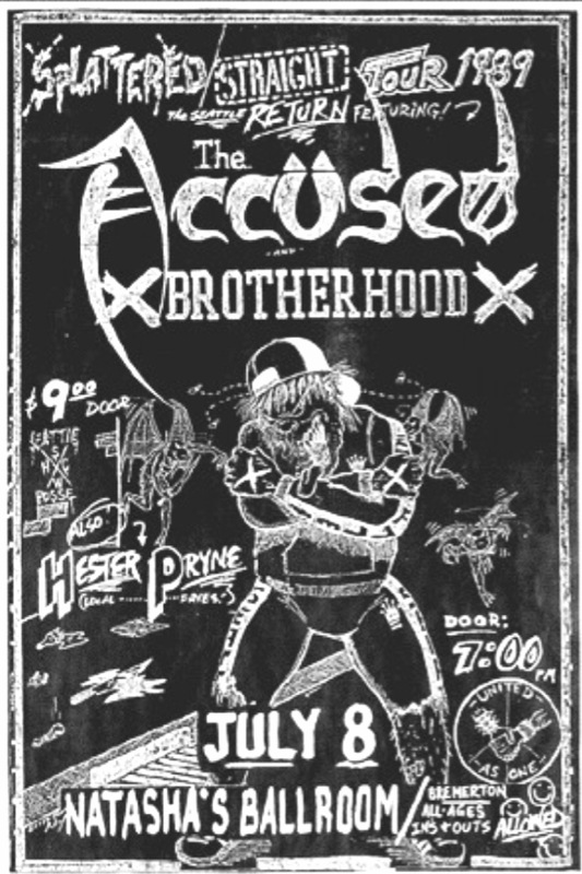 The Accused-Brotherhood @ Bremerton WA 7-8-89