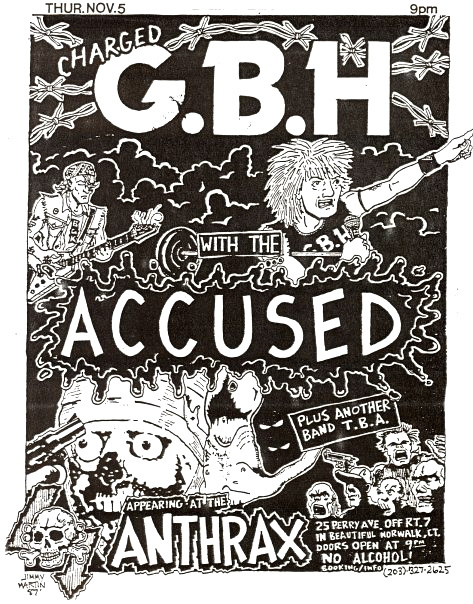 GBH-The Accused @ Norwalk CT 11-5-89