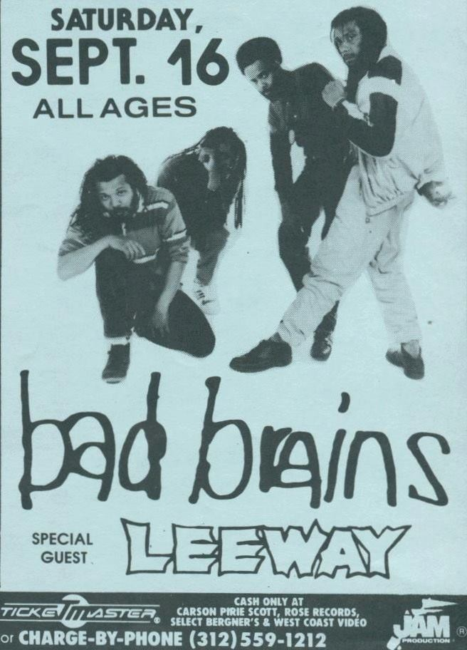 Bad Brains-Leeway @ Chicago IL 9-16-89