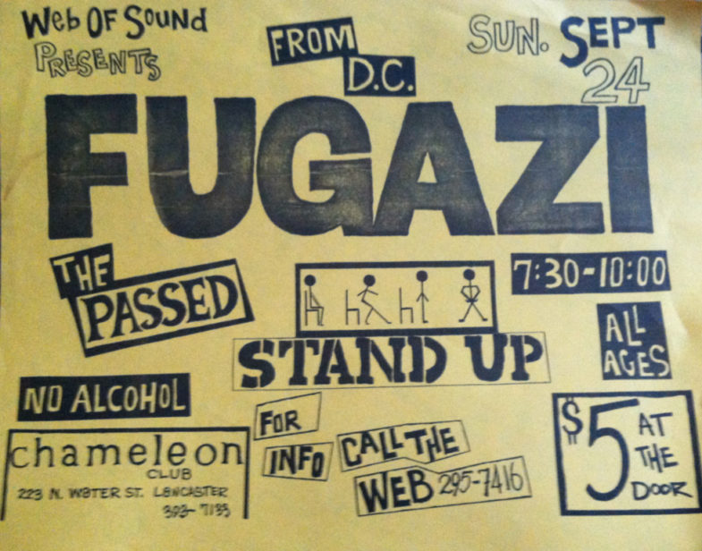 Fugazi-The Passed-Stand Up @ Lancaster PA 9-24-89