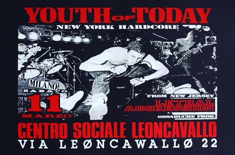 Youth Of Today-Lethal Aggression @ Milan Italy 3-11-89