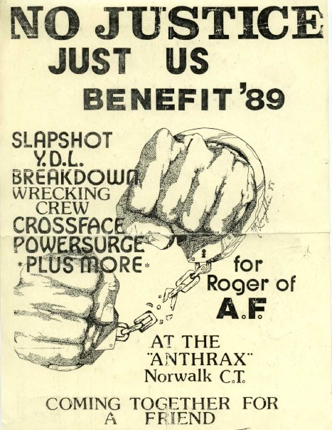 No Justice Just Us Benefit 3-25-89