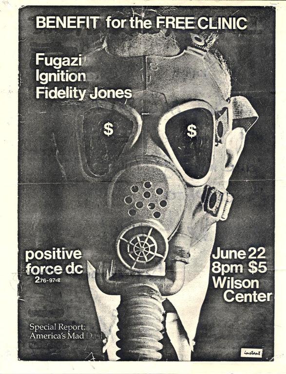 Fugazi-Ignition-Fidelity Jones @ Washington DC 6-22-89