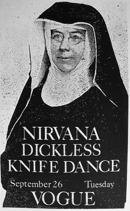 Nirvana-Dickless-Knife Dance @ Seattle WA 9-26-89