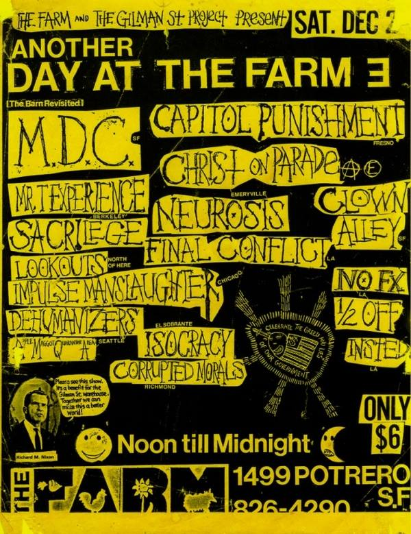 Another Day At The Farm III 12-2-86