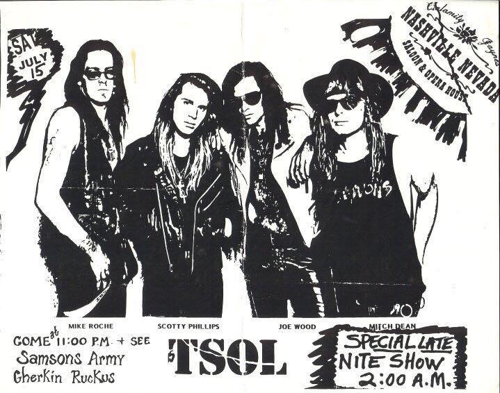TSOL @ Las Vegas CA 7-15-89