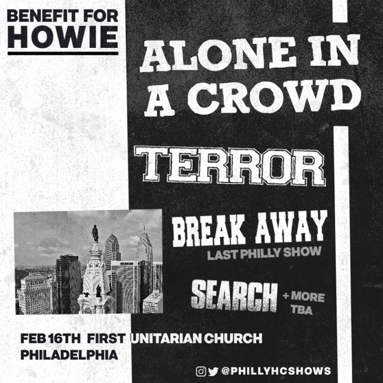 Alone In A Crowd-Terror-Break Away-Search @ Philadelphia PA 2-16-19