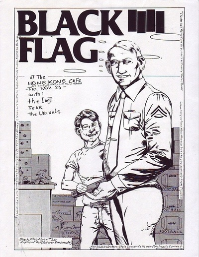 Black Flag-The Last-Fear-The Urinals @ Los Angeles CA 11-23-79