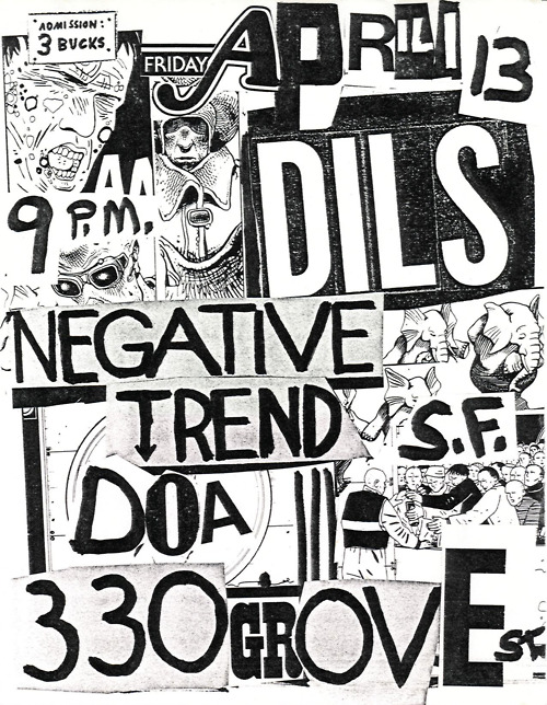 Dils-Negative Trend-DOA @ San Francisco CA 4-13-79