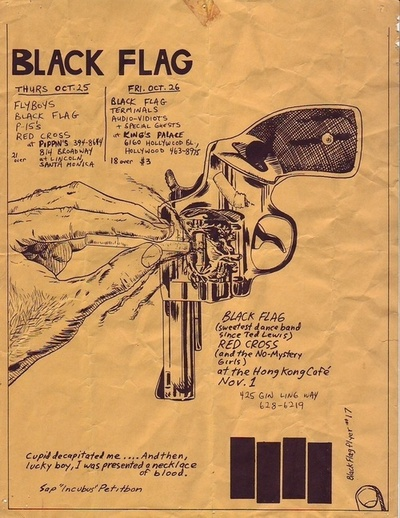 Black Flag-Redd Kross @ Los Angeles CA 11-1-79