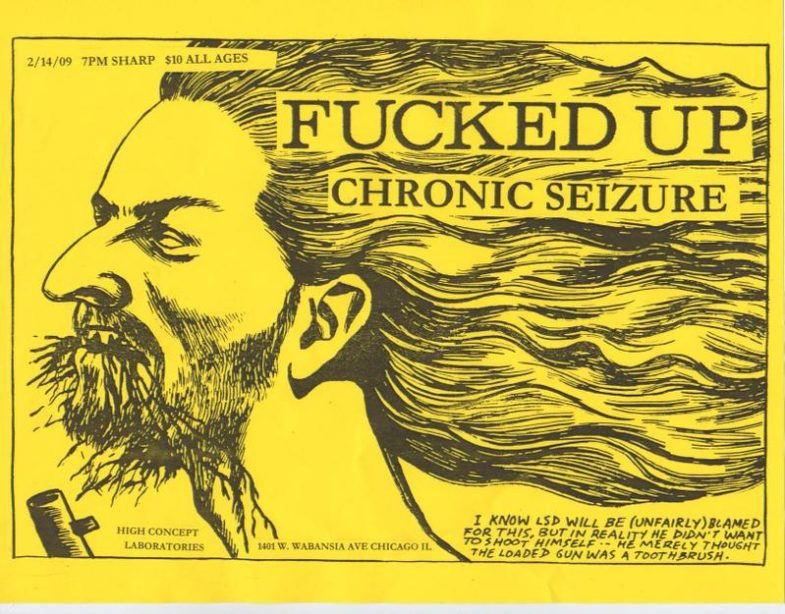 Fucked Up-Chronic Seizure @ Chicago IL 2-14-09