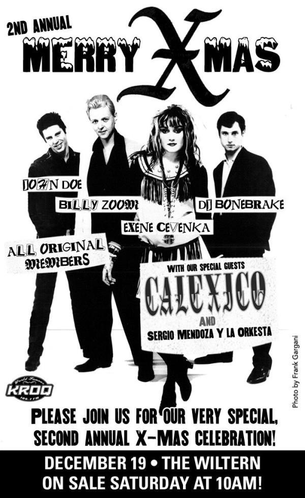 X-Calexico @ Los Angeles CA 12-19-09