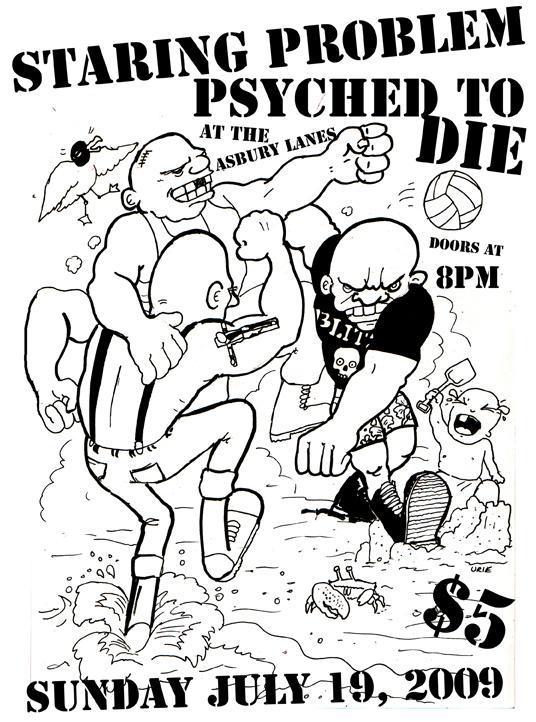 Staring Problem-Psyched To Die @ Asbury Park NJ 7-19-09