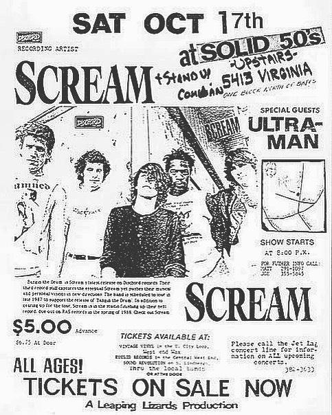 Scream-Ultra Man @ 10-17-87