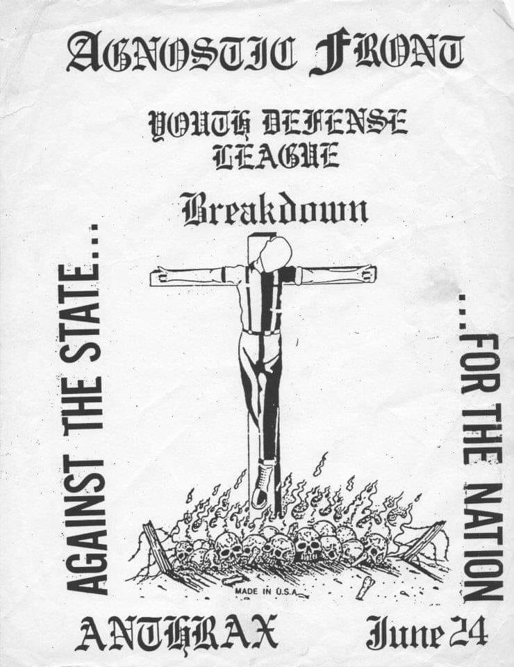 Agnostic Front-YDL-Breakdown @ Norwalk CT 6-24-88