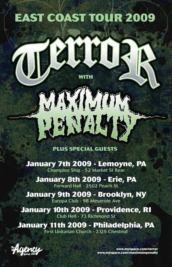 Terror-Maximum Penalty Tour 2009