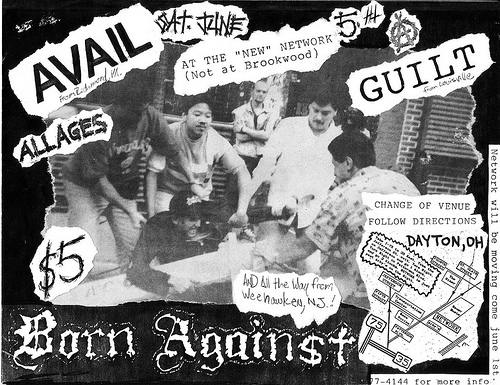Born Against-Avail-Guilt @ Dayton OH 6-5-93