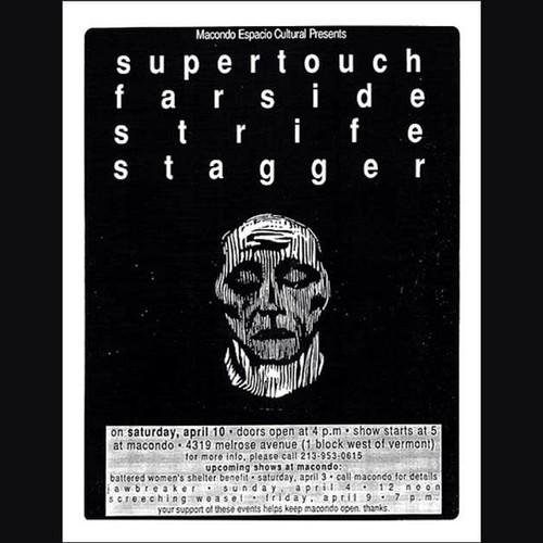 Supertouch-Farside-Strife-Stagger @ Anaheim CA 4-10-93