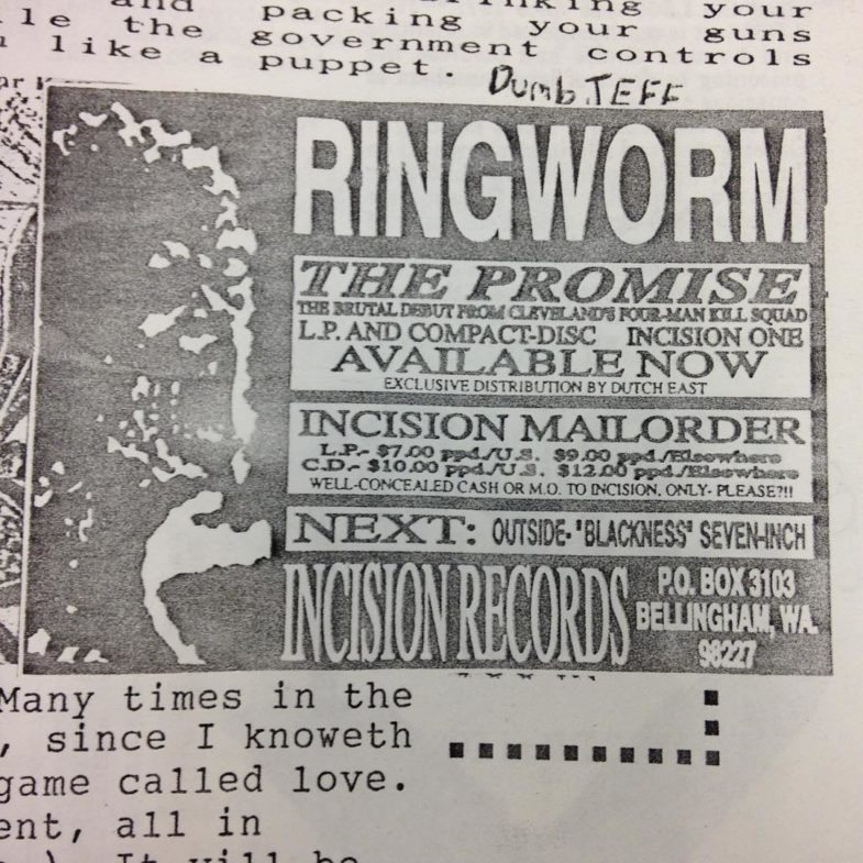 Ringworm (Incision Records)