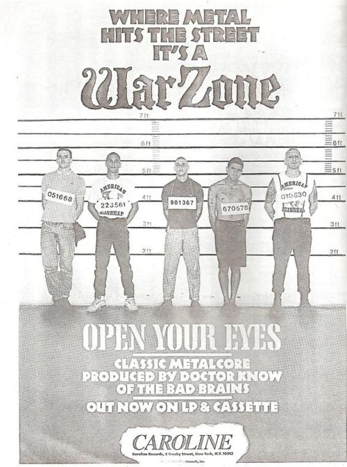 War Zone (Caroline Records)
