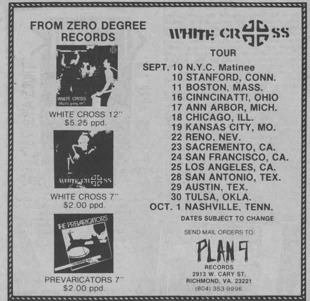 White Cross US Tour