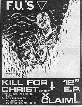 The FU's (XClaim! Records)