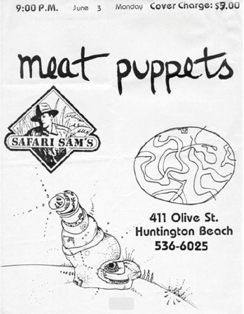 Meat Puppets @ Huntington Beach CA 6-3-89