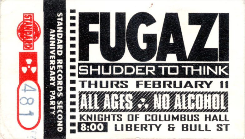 Fugazi-Shudder To Think @ Savannah GA 2-11-93