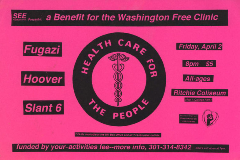 Fugazi-Hoover-Slant 6 @ Washington DC 4-2-93